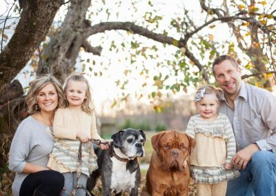 Blooms County Dogue client family pic